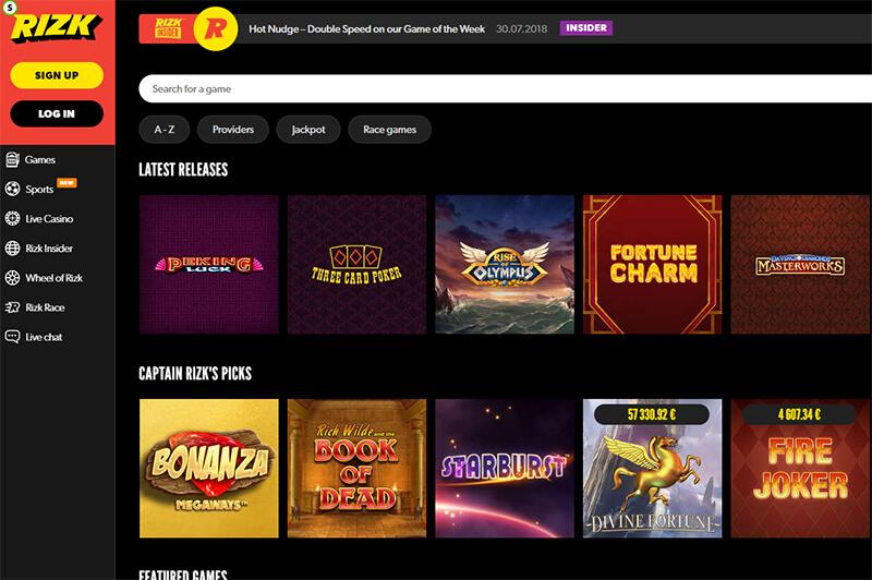 Rizk Online Casino